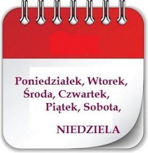 kartka z kalend