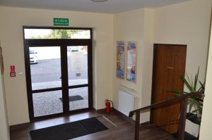 Wejście do kancelarii