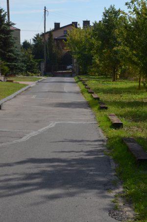 Droga dojazdowa, strona południowa
